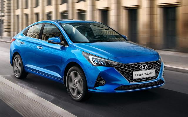 Novo Hyundai Solaris 2021 tem novas imagens divulgadas