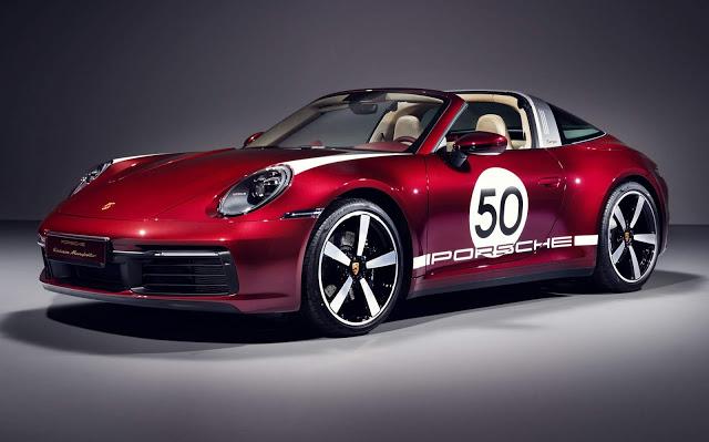 Porsche 911 Targa 4S Heritage Design edition - detalhes