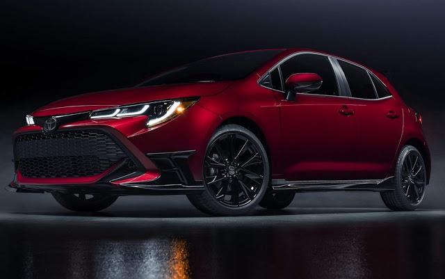 Toyota Corolla Hatch 2021 ganha versão enfeitada - EUA