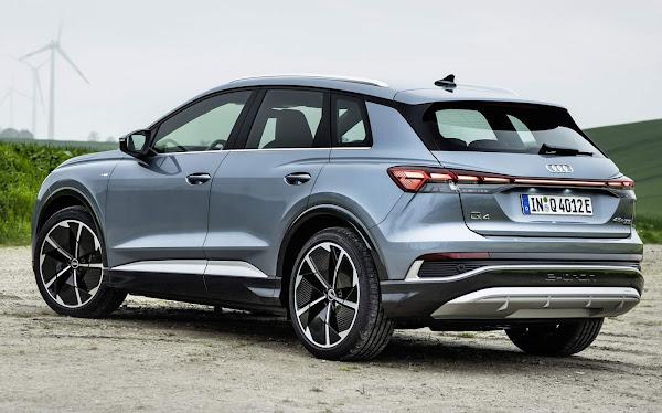 Audi Q4 e-tron ganha nova versão AWD: Q4 45 etron Quattro