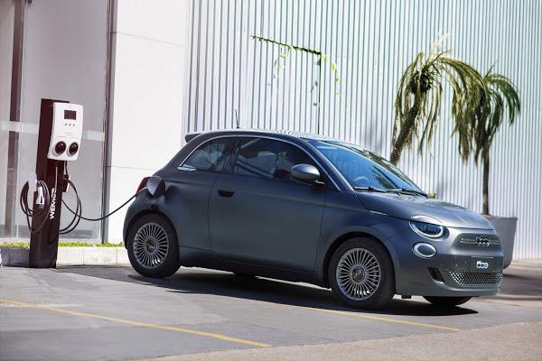 Fiat 500e 2022 elétrico chega ao Brasil - fotos, preços e recarga
